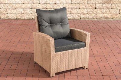 PolyRoodan fauteuil Fosoli sand,anthrazit