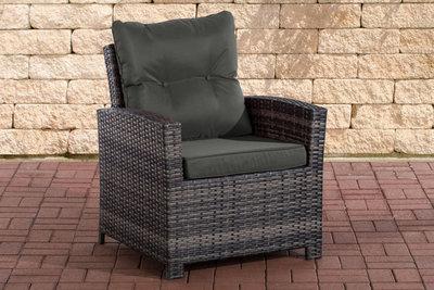 PolyRoodan fauteuil Fosoli Grijs-meliert,anthrazit