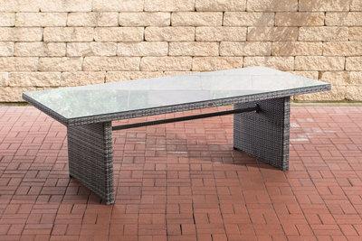 Poly Roodan tafel Avignon Grijs-meliert,200 cm