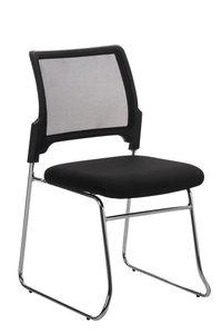 Bezoekersstoel Kontan Zwart