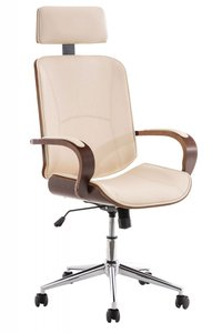Moderne Bureaustoel - Trendy Bureaustoel Suus Creme
