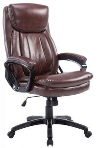Bureaustoel Ela Bordeaux Rood-Ideaal voor lange en zware personen