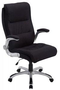 Directiestoel - Bureaustoel Inara Stof Zwart (comfortabel - zware belasting)