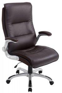 Directiestoel - Bureaustoel Inara Bruin (comfortabel - zware belasting)
