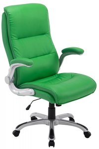 Directiestoel - Bureaustoel Inara Groen (comfortabel - zware belasting)