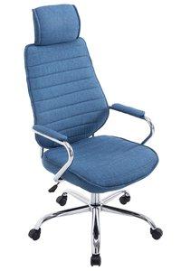 Bureaustoel Romsaya Stof Blauw - Comfortabel