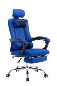 Bureaustoel met voetsteun Annemijn Blauw