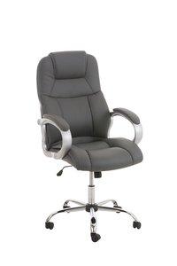 Bureaustoel Marrit Grijs (extra brede bureaustoel - brede zitting - zware belasting)
