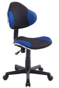 Bureaustoel Aicha Zwart Blauw