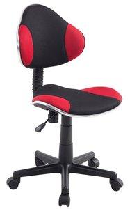 Bureaustoel Aicha Zwart Rood